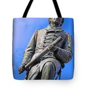 Admiral David Farragut In Farragut Square Tote Bag