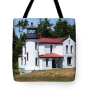 Admiralty Head Lighthouse Tote Bag