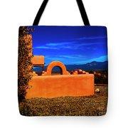 Adobe At Sunset Tote Bag