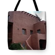 Adobe House At Red Rocks Colorado Tote Bag