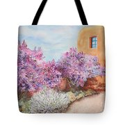 Adobe Lilacs Tote Bag