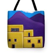 Adobe Village Tote Bag