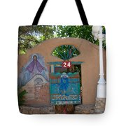 Adobe Wall Chimayo  Tote Bag