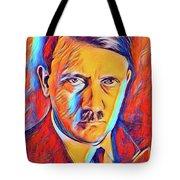 Adolf Hitler, Leaders Of Wwii Series.  Tote Bag