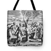 Adonis Being Born From Myrrha Tote Bag