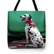 Happy Dalmatian  Tote Bag