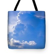 Adoration Of The Heaven Above Tote Bag
