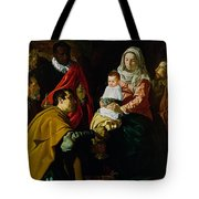 Adoration Of The Kings Tote Bag