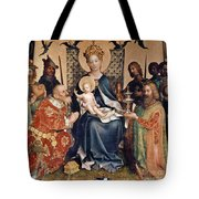 Adoration Of The Magi Altarpiece Tote Bag by Stephan Lochner