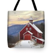 Adorned With Icicles Tote Bag