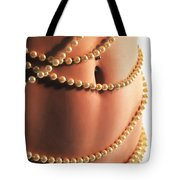 Adorned With Pearls Tote Bag