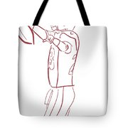 Adrian Peterson Cardinals Tote Bag