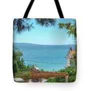 Adriatic Coast Sea View Tote Bag