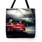 Adv1 Red Porsche 2 Tote Bag