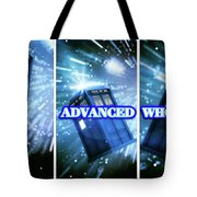 Advanced Whovians Alt Tote Bag