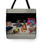 Adventure Novel Tote Bag