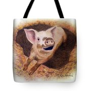 Adventurous Tote Bag by Phyllis Howard