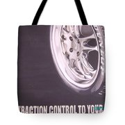 Adverts On Tyres Tote Bag