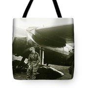 Amelia Earhardt, Ireland, Solo Atlantic Crossing, May 21st, 1932 Tote Bag