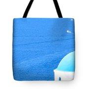 Aegean Blue Tote Bag