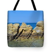 Aegean Rocks Tote Bag