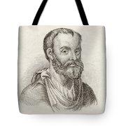 Aelius Galenus Or Claudius Galenus Tote Bag