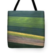 Aerial Abstract Tote Bag