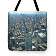 Aerial Abstract Toronto Tote Bag