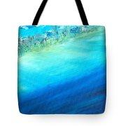 Aerial Coastline Tote Bag