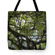 Aerial Network I Tote Bag