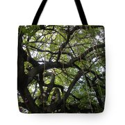 Aerial Network II Tote Bag