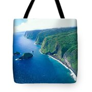 Aerial Of North Shore Tote Bag
