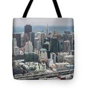 Aerial San Francisco Tote Bag