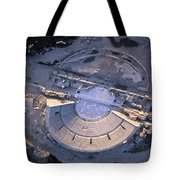 Aerial View Of Ancient Roman Theater Tote Bag