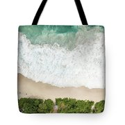 Aerial View Of Anse Intendance - Mahe - Seychelles Tote Bag