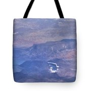 Aerial View Of Hoover Dam Tote Bag
