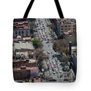 Aerial View Of Mexico Cityscape Tote Bag
