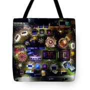 Aerial View Of Norco Fair - Pottstown Pa Tote Bag