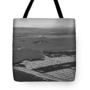 Aerial View Of San Francisco Downtown Cityscape Tote Bag