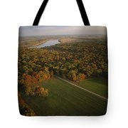 Aerial View Of Shiloh. The Tennessee Tote Bag
