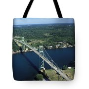 Aerial View Of The Thousand Island Tote Bag