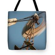 Aermotor Windmill Tote Bag