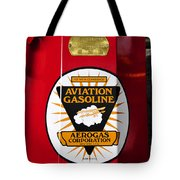 Aerogas Red Pump Tote Bag