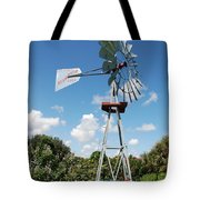Aeromotor Windmill Tote Bag