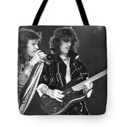 Aerosmith Tyler And Perry Tote Bag