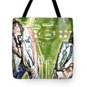 Aerosmith Watercolor Tote Bag