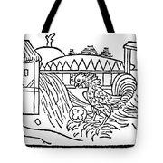 Aesop: Cock & Gem Tote Bag