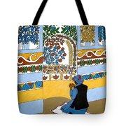 Afghan Mosque Tote Bag