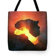 Africa Conceptual Design Tote Bag