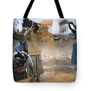 Africa, Ethiopia, Woman And Boy Tote Bag